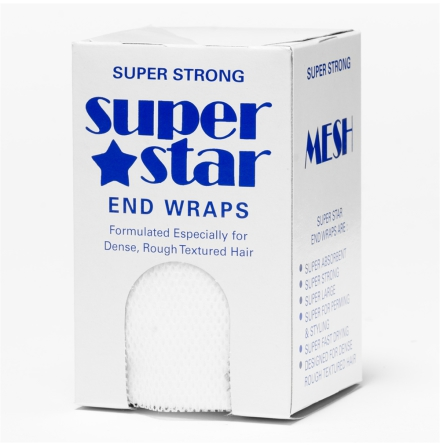 Toppapper superstar end wraps white