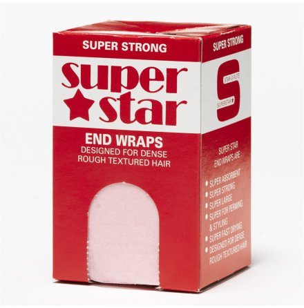 Toppapper superstar end wraps pink