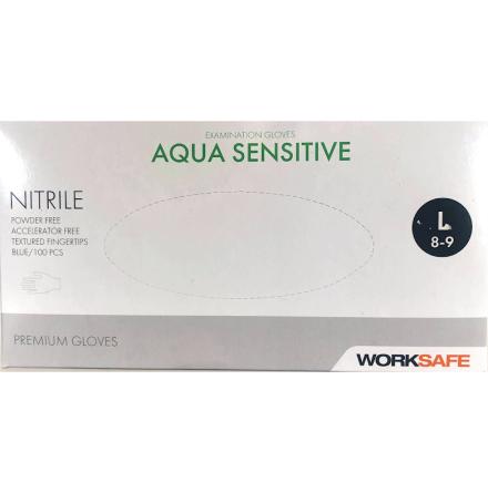 Nitrilhandskar aqua sensitive large