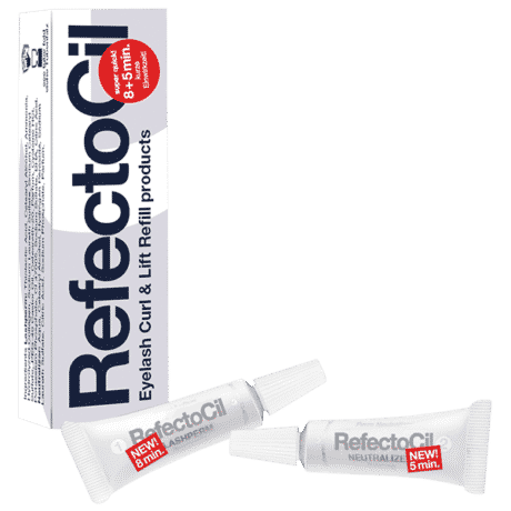 Refectocil eyelash curl & eyelash lift refill perm/neutralizer